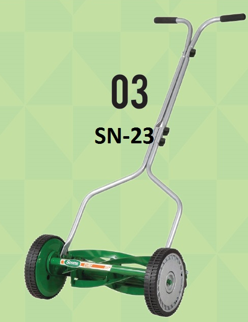 Tracor lawn mower